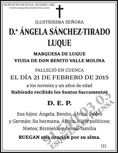 Ángela Sánchez-Tirado Luque